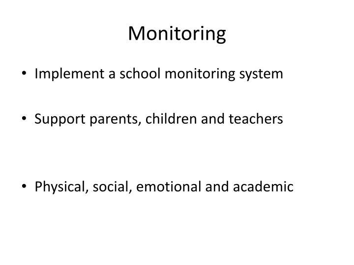 Monitoring