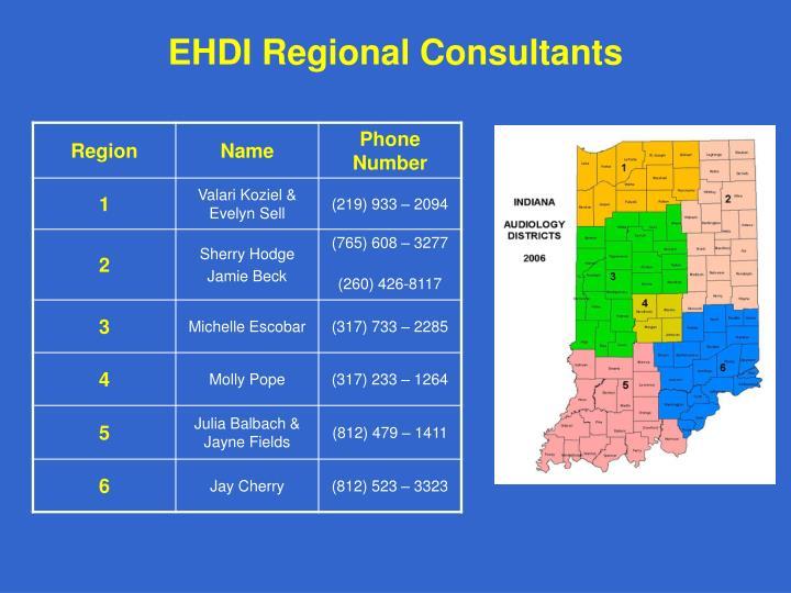 EHDI Regional Consultants