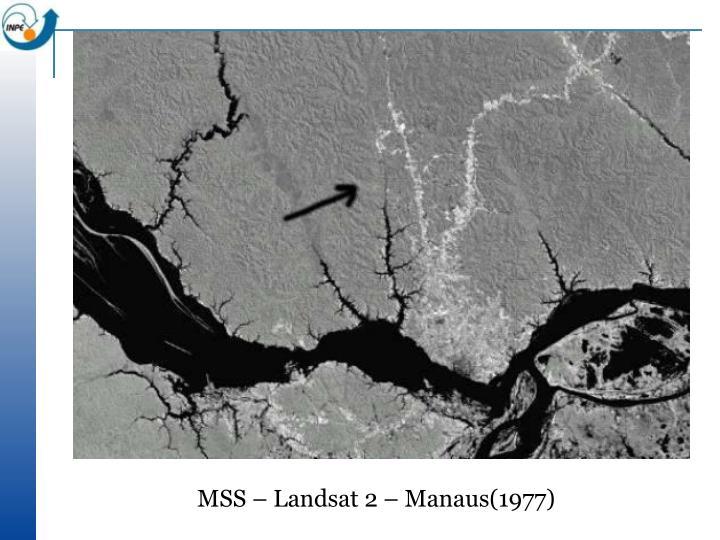MSS – Landsat 2 – Manaus(1977)
