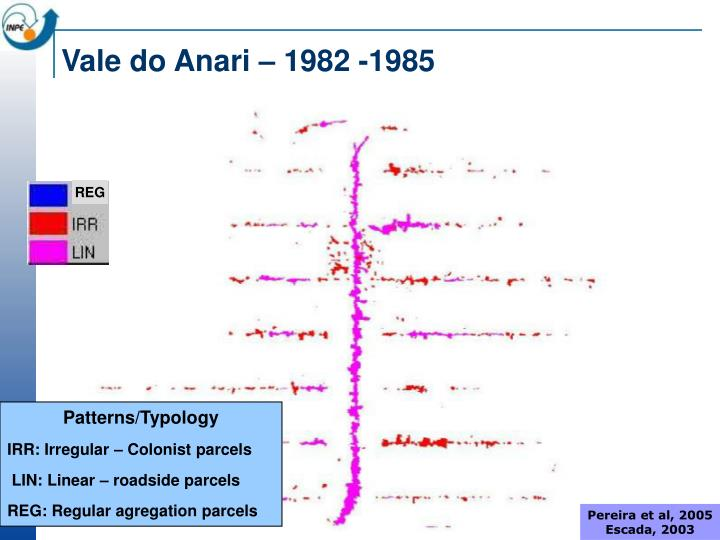 Vale do Anari – 1982 -1985