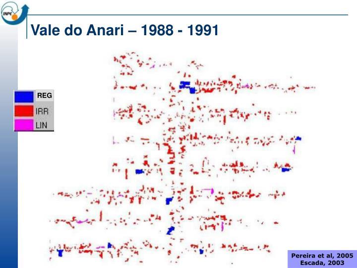 Vale do Anari – 1988 - 1991