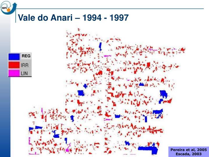 Vale do Anari – 1994 - 1997