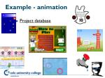 example animation