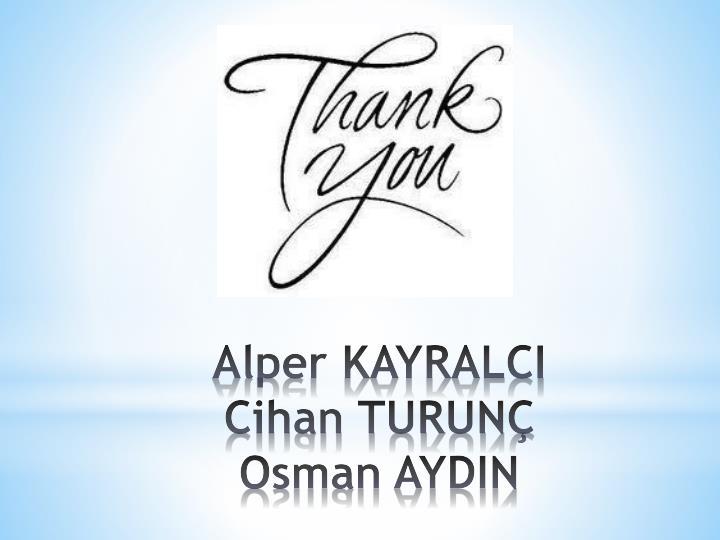 Alper KAYRALCI