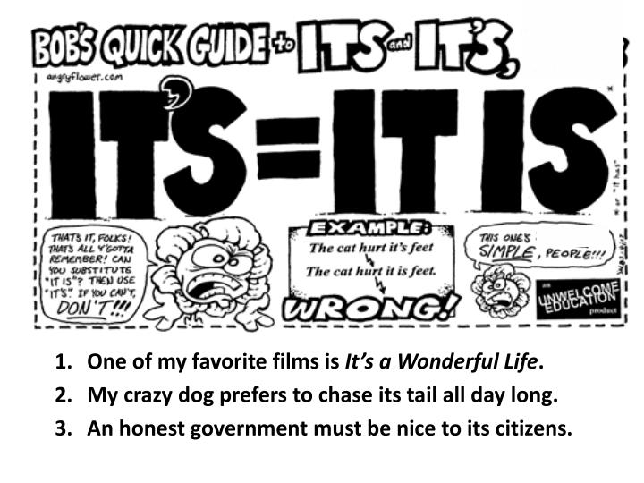 One of my favorite films is