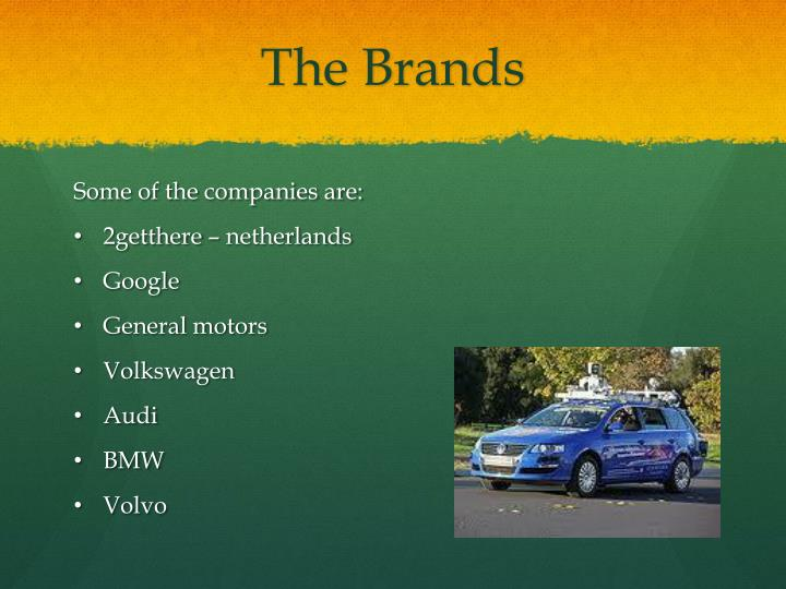 The Brands