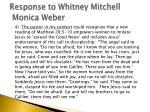 response to whitney mitchell monica weber7