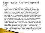 resurrection andrew shepherd 2 3