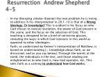resurrection andrew shepherd 4 5