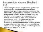 resurrection andrew shepherd 7 8