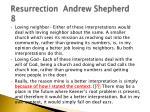 resurrection andrew shepherd 81