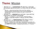 theme mission