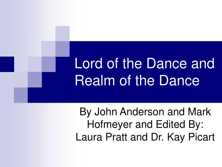 lord of the dance and realm of the dance n.