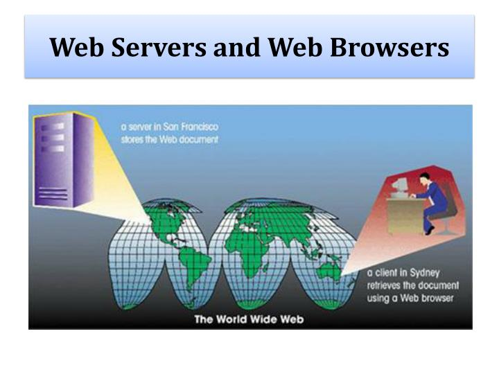 Web Servers and Web Browsers