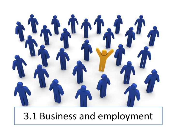 3 1 business and employment n.