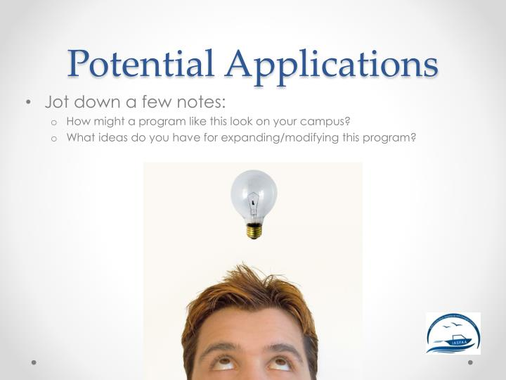 Potential Applications
