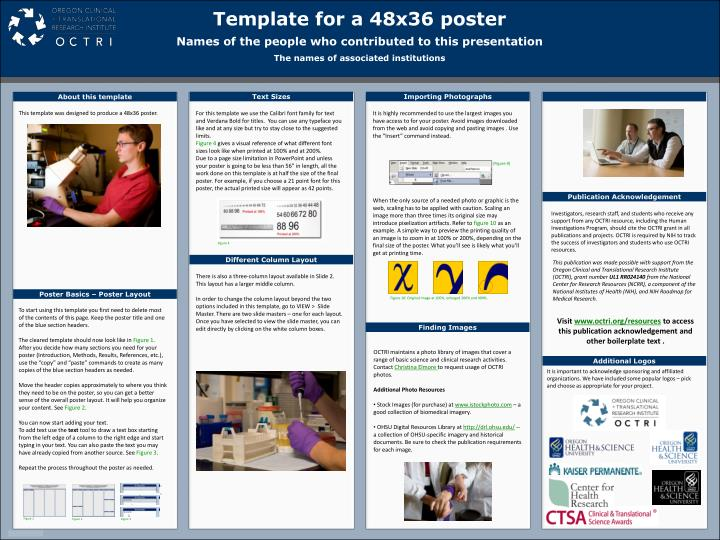 excellent case report poster template images - resume ideas, Powerpoint templates