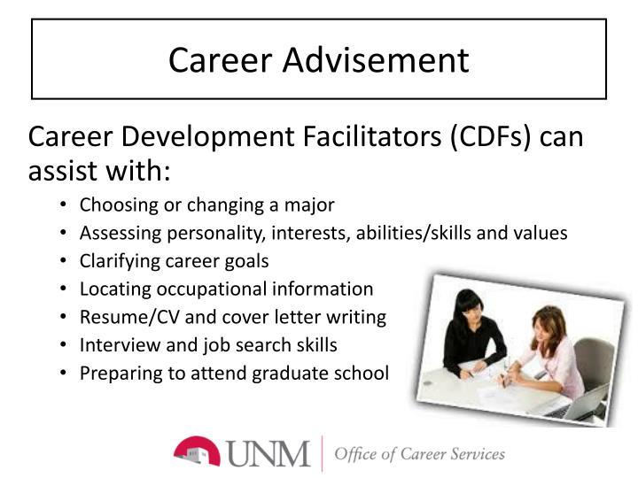 Career advisement
