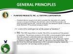 general principles6