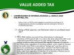 value added tax6