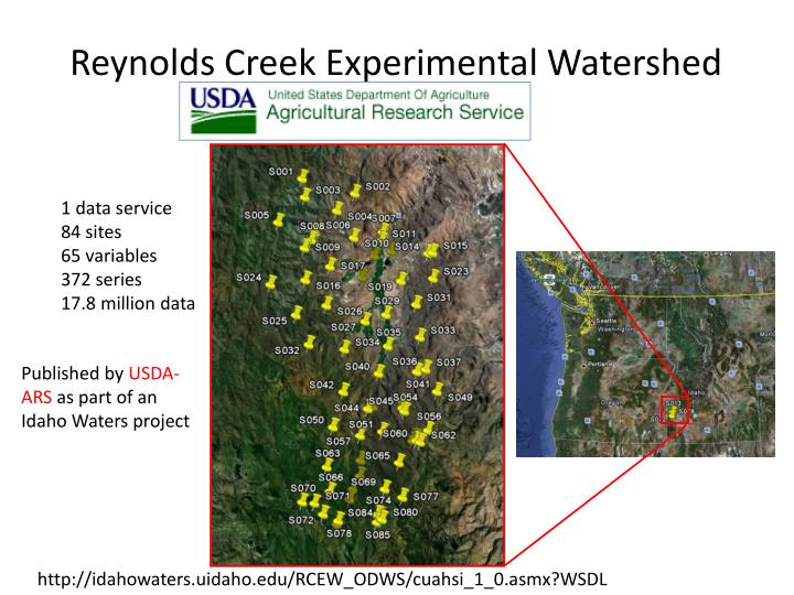 Reynolds Creek Experimental Watershed
