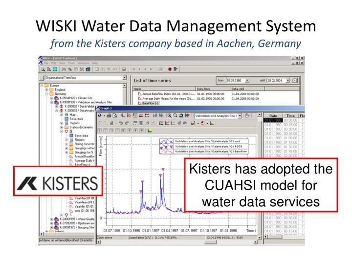 WISKI Water Data Management System