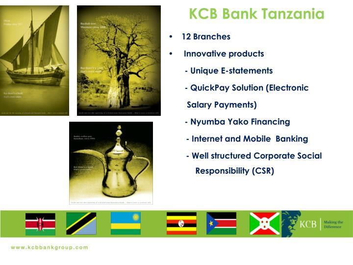 KCB Bank Tanzania