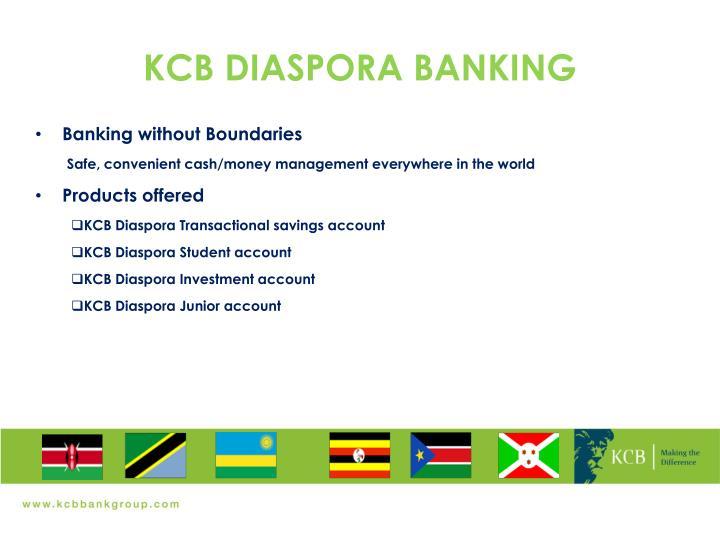 KCB DIASPORA BANKING