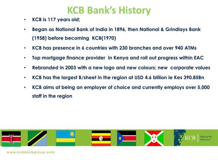 KCB Bank's