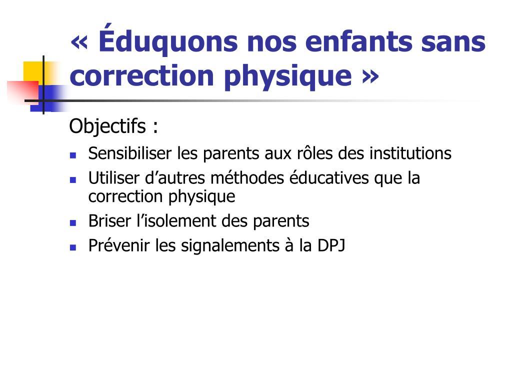 Image result for EDUQUONS NOS ENFANTS