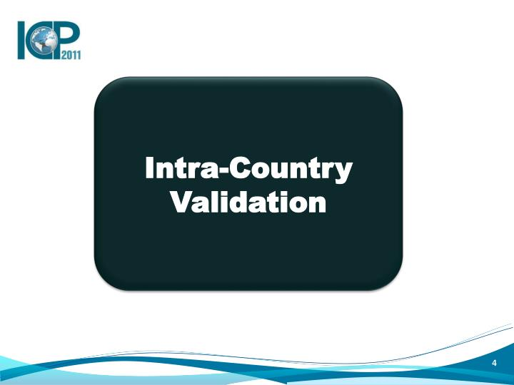 Intra-Country Validation