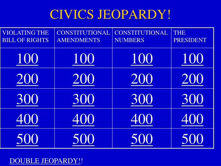 civics jeopardy n.