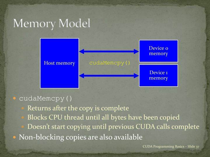 Host memory