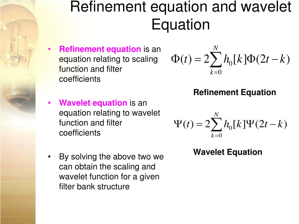 PPT - Introduction to Wavelet Transform PowerPoint