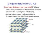 unique features of 3d ics