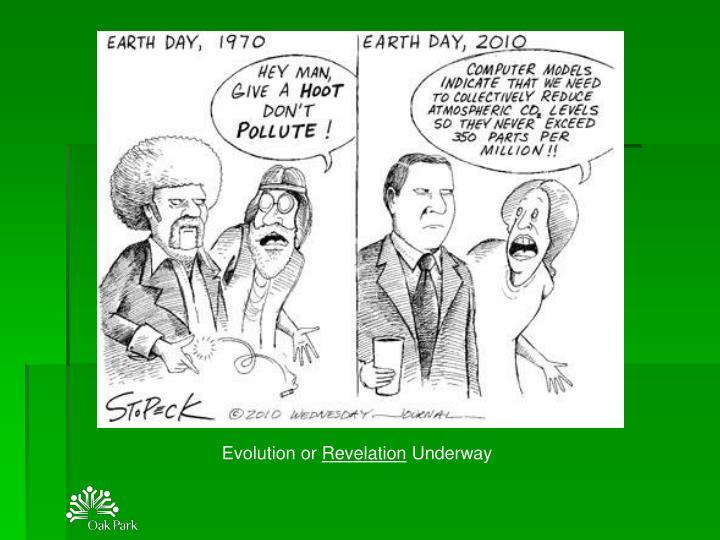 Evolution or