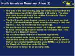 north american monetary union 2