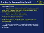 the case for exchange rate fixity 4
