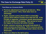 the case for exchange rate fixity 5
