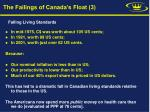 the failings of canada s float 3