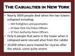 the casualties in new york