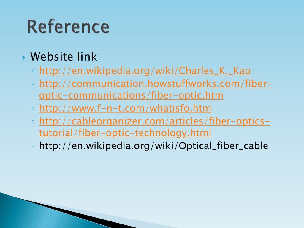 PPT - FIBER OPTICS COMMUNICATIONS PowerPoint Presentation