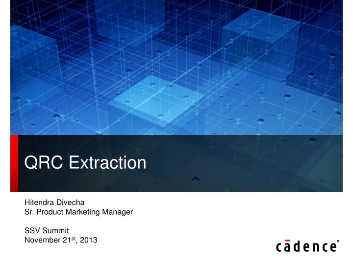 qrc extraction n.