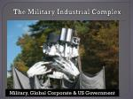 the military industrial complex