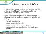 infrastructure and safety