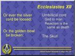 ecclesiastes xii11