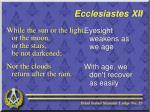 ecclesiastes xii3