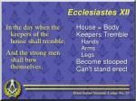 ecclesiastes xii4