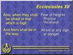 ecclesiastes xii8