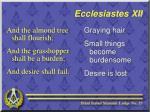 ecclesiastes xii9